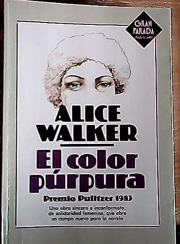 9788401360527: El Color Purpura/the Color Purple