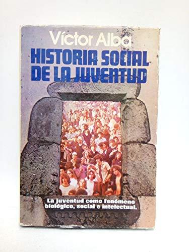 9788401370168: Historia social de la juventud
