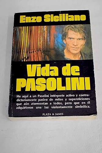 9788401370748: VIDA DE PASOLINI