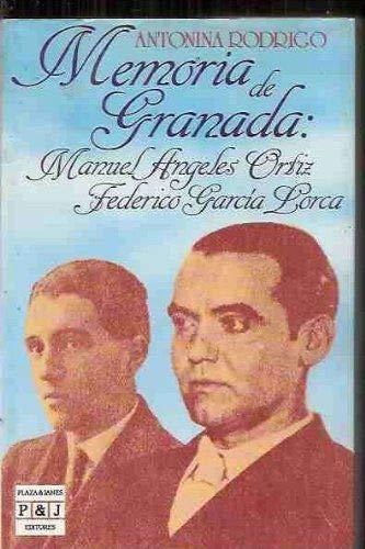 9788401371691: Memoria de Granada: Manuel Angeles Ortiz, Federico Garcia Lorca