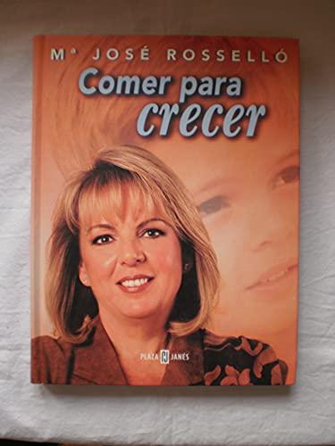 9788401377310: Comer para crecer / Eating to Grow (Spanish Edition)