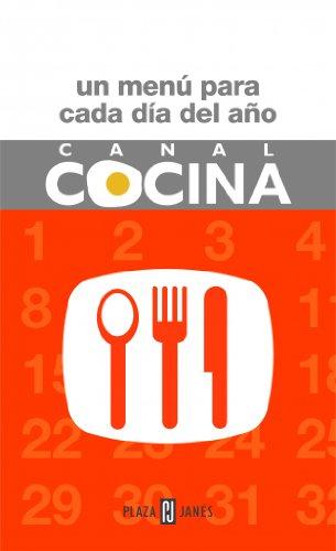 9788401379307: Canal cocina - un menu para cada dia del año