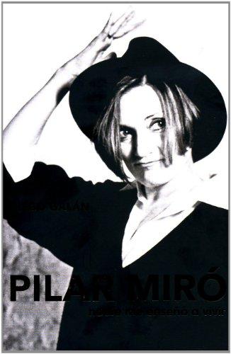 9788401379611: Pilar miro - nadie me enseño a vivir