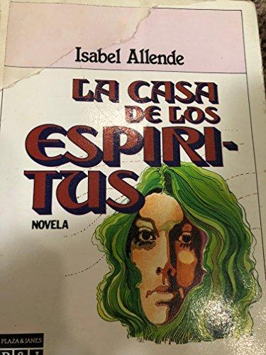 9788401380112: La casa de los espiŕitus (Plaza & Janeś/literaria) (Spanish Edition)
