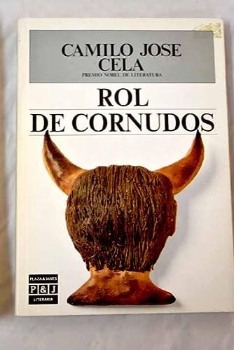 9788401381560: Rol De Cornudos/Rollcall of Cuckolds (Spanish Edition)