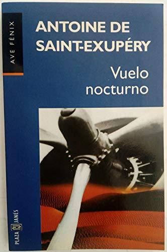 9788401422607: Vuelo Nocturno/Night Flight (Spanish Edition)