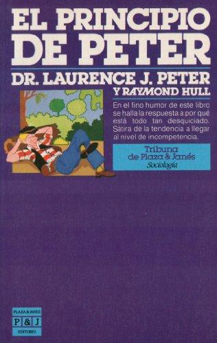 9788401450198: Principio de Peter, El (Spanish Edition)