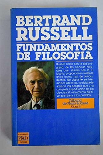 9788401450549: Fundamentos de filosofia