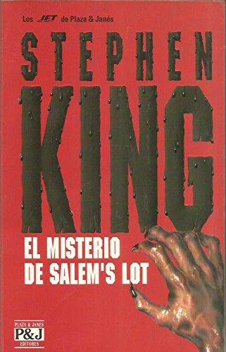 9788401474569: El Misterio De Salem's Lot/Salem's Lot (Jet de Plaza & Janes. Biblioteca de Stephen King) (Spanish Edition)