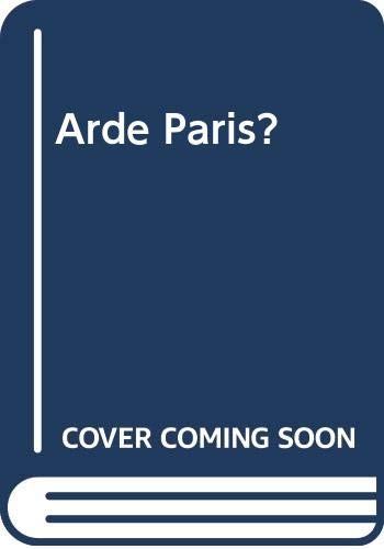 9788401491351: Arde Paris? (Spanish Edition)