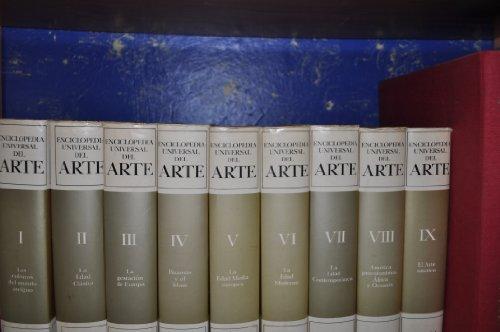 Enciclopedia universal del arte (9 tomos)