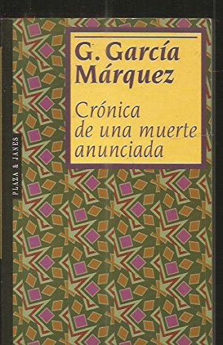9788401620096: cronica_de_una_muerte_anunciada