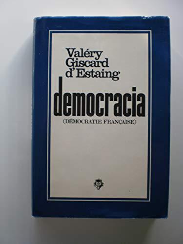 9788401805400: Democracia : (Démocratie francaise)