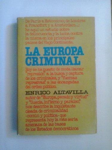 9788401805837: La Europa criminal