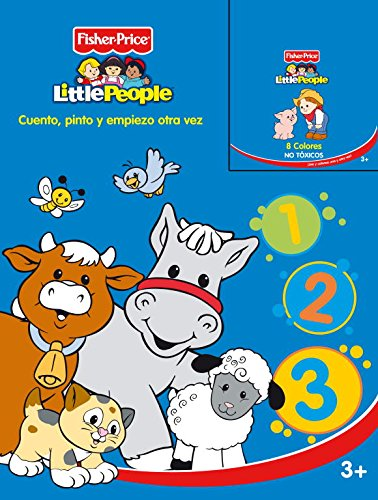 9788401901904: Cuento, pinto y empiezo otra vez (FISHER PRICE. LITTLE PEOPLE)