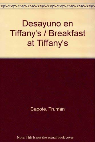 9788402006530: Desayuno en Tiffany's / Breakfast at Tiffany's