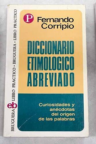 9788402039019: Diccionario etimologico abreviado