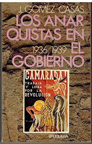 9788402051738: LOS ANARQUISTAS EN EL GOBIERNO