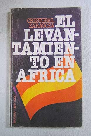 9788402052537: El levantamiento en Africa (Libro amigo ; 536) (Spanish Edition)