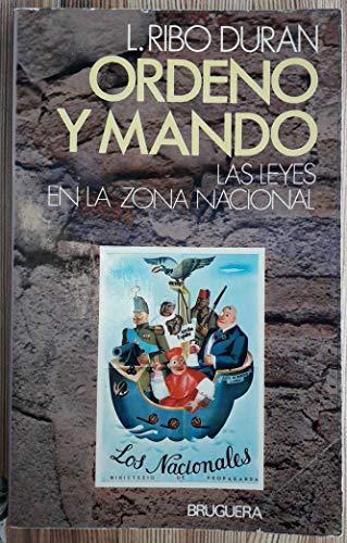 9788402053008: Ordeno y mando (Serie La Guerra civil) (Spanish Edition)