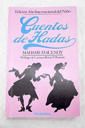 9788402064370: CUENTOS DE HADAS (Barcelona, 1979) por Madame D´Aulnoy