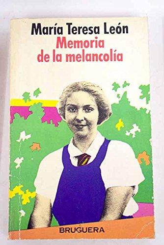 9788402066558: Memoria de la melancolia (Bruguera circulo)