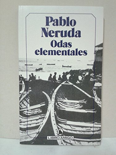 9788402068828: Odas elementales (Libro amigo) (Spanish Edition)