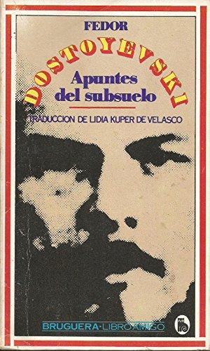 9788402071590: Apuntes Del Subsuelo