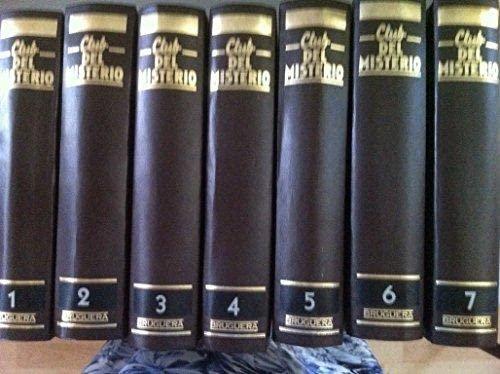 9788402080974: CLUB DEL MISTERIO. Volumen 1: COSECHA ROJA / LAS AVENTURAS DE SHERLOCK HOLMES / CARA A CARA / EL SUEÑO ETERNO / EL CUCHILLO / EL CASO DEL JUGUETE MORTIFERO/IMPULSO CREADOR / EL SECUESTRO DE MISS BLANDISH /LA BESTIA DEBE MORIR
