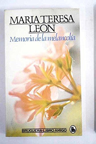 9788402088413: Memoria de la melancolia