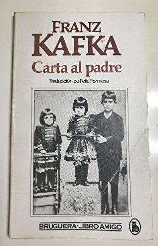 CARTA AL PADRE: KAFKA Franz