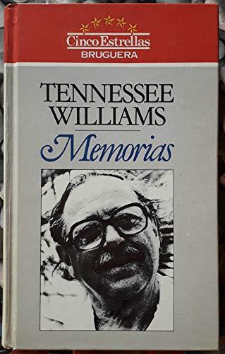 Memorias/Memoirs: Williams, Tennessee