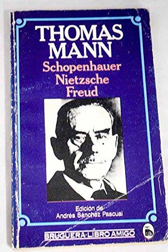 9788402100214: Schopenhauer, Nietzsche, Freud