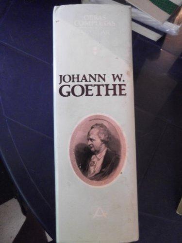 9788403000346: Goethe: 1 obras completas