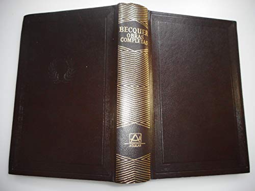 Obras completas: Becquer, Gustavo Adolfo