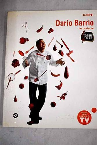 9788403097179: Todos Contra El Chef. Recetas De Dario Barrio