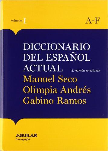9788403097254: Nueva Edición Diccionario Español Actual 2011 /obra 2 tomos (AGUILAR LEXICOGRAFIA)