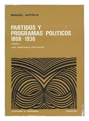 9788403120570: Artola:partidos y programas politicos