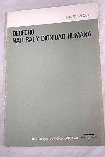 9788403250598: Derecho natural y dignidad humana