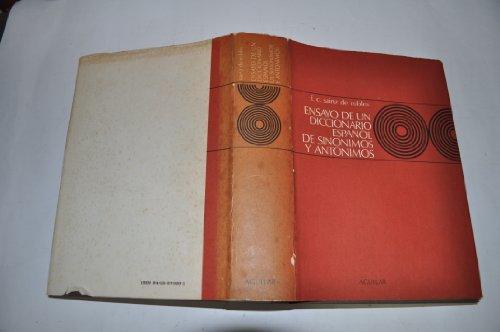 9788403270299: Diccionario Espa~nol de Sinonimos y Antonimos (Coleccion Obras de Consulta) (Spanish Edition)