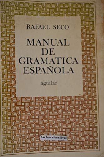 9788403270626: Manual de gramática española (Colección Obras de consulta) (Spanish Edition)