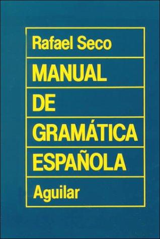 9788403270817: Manual de gramática española