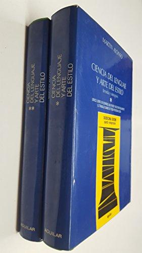 9788403279957: Ciencia del lenguaje y arte del estilo.