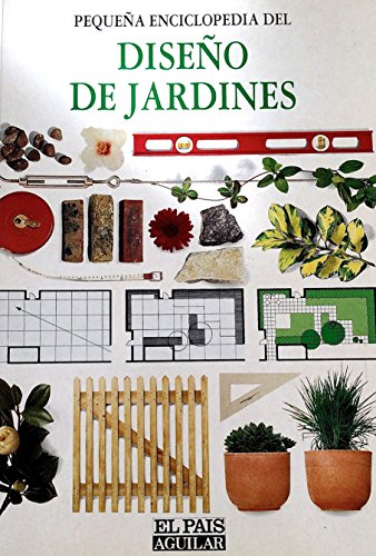 9788403592445: Diseño de jardines, pequeña enciclopedia del