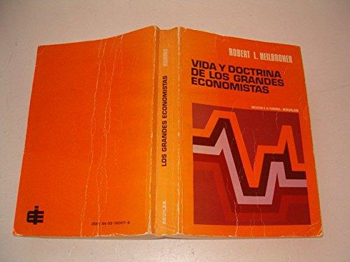 9788403760073: VIDA Y DOCTRINA DE LOS GRANDES ECONOMISTAS