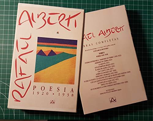 9788403890015: Poesia 1920-1938 (obras completas;t.1)