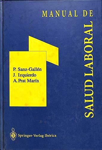 9788407001295: Manual de salud laboral.