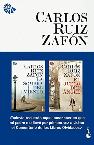 9788408006312: Pack Zafón Booket (La Sombra del Viento + El Juego del Ángel) (Gran Formato)