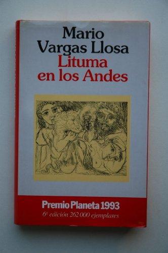 9788408010470: Lituma En Los Andes/Death in the Andes