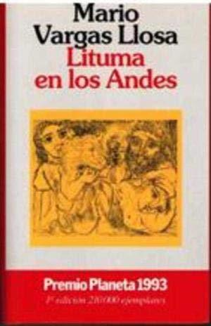 9788408010470: Lituma en los Andes/Lituma in the Andes (Coleccion Autores Espanoles E Hispanoamericanos)